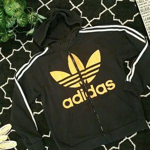 "Men's ""adidas"" hooded sweatshirt"